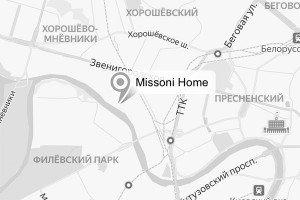 Схема проезда к шоуруму Missoni Home