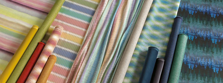 Подборка тканей Missoni Home Panorama