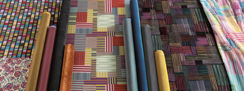 Подборка тканей Missoni Home Stripes Mosaic